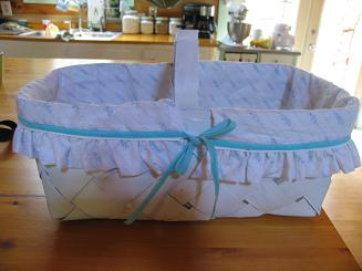 "<!-- AddThis Share Buttons above via filter on get_the_excerpt --> <div class=""at-above-post-arch-page"" data-url=""http://www.not2crafty.com/2008/07/basket-liner-with-ruffle-and-ribbon-ties/"" data-title=""Basket liner with ruffle and ribbon ties.""></div>  I always have sewing projects sitting around my house so I wanted a basket to keep them from cluttering up my living room. I saw these basket liners in a recent issue of [...]<!-- AddThis Share Buttons below via filter on get_the_excerpt --> <div class=""at-below-post-arch-page"" data-url=""http://www.not2crafty.com/2008/07/basket-liner-with-ruffle-and-ribbon-ties/"" data-title=""Basket liner with ruffle and ribbon ties.""></div><!-- AddThis Share Buttons generic via filter on get_the_excerpt --> <!-- AddThis Related Posts generic via filter on get_the_excerpt -->"