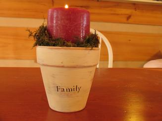 "<!-- AddThis Share Buttons above via filter on get_the_excerpt --> <div class=""at-above-post-arch-page"" data-url=""http://www.not2crafty.com/2008/11/flower-pot-candle-holders/"" data-title=""Flower pot candle holders""></div>   These candle holders are made from clay pots that are painted and stenciled.  I made six of them to use as a centerpiece on my Thanksgiving table but they [...]<!-- AddThis Share Buttons below via filter on get_the_excerpt --> <div class=""at-below-post-arch-page"" data-url=""http://www.not2crafty.com/2008/11/flower-pot-candle-holders/"" data-title=""Flower pot candle holders""></div><!-- AddThis Share Buttons generic via filter on get_the_excerpt --> <!-- AddThis Related Posts generic via filter on get_the_excerpt -->"