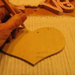 trace-heart-shape-onto-back-of-chenille-fabric