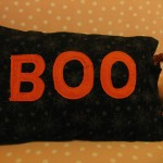 boo pillow