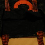 stich ties as shown