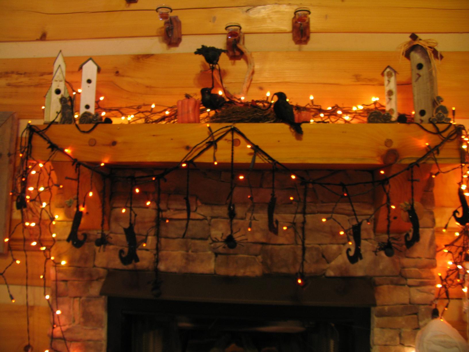 add a string of lights