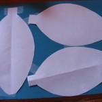 tape pattern pieces to back of glitter foam