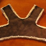 hem bottom 150x150 Make a soft and cuddly harness for your dog.