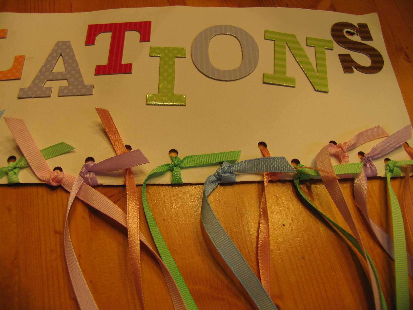 Pictures of how to tie ribbons