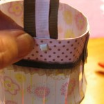 attach with paper fasteners 2 150x150 Easy to make paper lanterns for baby showers