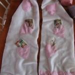 Valentines fleece scarf