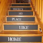 chalkboard steps