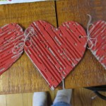 tie hearts together with twine