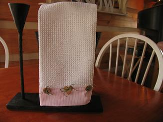 """<!-- AddThis Share Buttons above via filter on get_the_excerpt --> <div class=""""at-above-post-arch-page"""" data-url=""""https://www.not2crafty.com/2007/12/decorative-dish-towel/"""" data-title=""""Crafts for the Home – Decorative Dish Towel – Easy Project""""></div>   These decorative dish towel are so easy to make and can be done in  many different ways.  I bought these waffle towels in a 2 pack at [...]<!-- AddThis Share Buttons below via filter on get_the_excerpt --> <div class=""""at-below-post-arch-page"""" data-url=""""https://www.not2crafty.com/2007/12/decorative-dish-towel/"""" data-title=""""Crafts for the Home – Decorative Dish Towel – Easy Project""""></div><!-- AddThis Share Buttons generic via filter on get_the_excerpt --> <!-- AddThis Related Posts generic via filter on get_the_excerpt -->"""