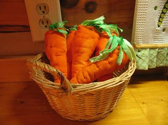 """<!-- AddThis Share Buttons above via filter on get_the_excerpt --> <div class=""""at-above-post-arch-page"""" data-url=""""https://www.not2crafty.com/2008/04/basket-of-fabric-carrots-for-summer-fun/"""" data-title=""""Make some fabric carrots for Easter""""></div>  I love being outside and growing stuff but have always been a dismal failure at vegetable gardening. I would love to have baskets of homegrown veggies sitting on my counter [...]<!-- AddThis Share Buttons below via filter on get_the_excerpt --> <div class=""""at-below-post-arch-page"""" data-url=""""https://www.not2crafty.com/2008/04/basket-of-fabric-carrots-for-summer-fun/"""" data-title=""""Make some fabric carrots for Easter""""></div><!-- AddThis Share Buttons generic via filter on get_the_excerpt --> <!-- AddThis Related Posts generic via filter on get_the_excerpt -->"""