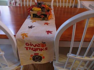 """<!-- AddThis Share Buttons above via filter on get_the_excerpt --> <div class=""""at-above-post-cat-page"""" data-url=""""https://www.not2crafty.com/2008/11/thanksgiving-table-runner-with-stenciled-leaves/"""" data-title=""""Thanksgiving table runner with stenciled leaves""""></div>   This table runner is easy and inexpensive to make. I stenciled enough leaves on it for all family members and guests to sign on Thanksgiving Day fwith a permanent [...]<!-- AddThis Share Buttons below via filter on get_the_excerpt --> <div class=""""at-below-post-cat-page"""" data-url=""""https://www.not2crafty.com/2008/11/thanksgiving-table-runner-with-stenciled-leaves/"""" data-title=""""Thanksgiving table runner with stenciled leaves""""></div><!-- AddThis Share Buttons generic via filter on get_the_excerpt --> <!-- AddThis Related Posts generic via filter on get_the_excerpt -->"""