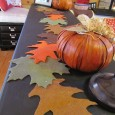 """<!-- AddThis Share Buttons above via filter on get_the_excerpt --> <div class=""""at-above-post-cat-page"""" data-url=""""https://www.not2crafty.com/2011/11/felt-leaf-runner-thanksgiving-table/"""" data-title=""""Felt leaf runner for your Thanksgiving table""""></div>    This runner is made from felt and the leaves are connected using scrapbook paper fasteners. I did this so that I can move the leaves around a little so [...]<!-- AddThis Share Buttons below via filter on get_the_excerpt --> <div class=""""at-below-post-cat-page"""" data-url=""""https://www.not2crafty.com/2011/11/felt-leaf-runner-thanksgiving-table/"""" data-title=""""Felt leaf runner for your Thanksgiving table""""></div><!-- AddThis Share Buttons generic via filter on get_the_excerpt --> <!-- AddThis Related Posts generic via filter on get_the_excerpt -->"""