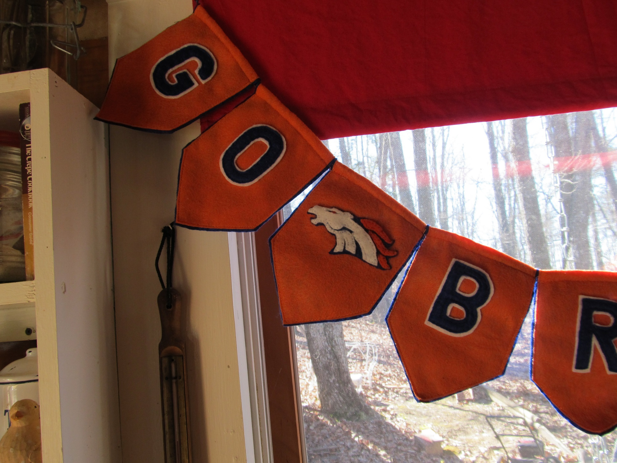 """<!-- AddThis Share Buttons above via filter on get_the_excerpt --> <div class=""""at-above-post-homepage"""" data-url=""""https://www.not2crafty.com/2014/01/denver-bronco-banner-super-bowl-party/"""" data-title=""""Denver bronco banner for your super bowl party""""></div>   I am a 49er fan who lives in Tennessee so will definitely be cheering for Peyton Manning and the Broncos. I decided to make a Bronco banner and am [...]<!-- AddThis Share Buttons below via filter on get_the_excerpt --> <div class=""""at-below-post-homepage"""" data-url=""""https://www.not2crafty.com/2014/01/denver-bronco-banner-super-bowl-party/"""" data-title=""""Denver bronco banner for your super bowl party""""></div><!-- AddThis Share Buttons generic via filter on get_the_excerpt --> <!-- AddThis Related Posts generic via filter on get_the_excerpt -->"""